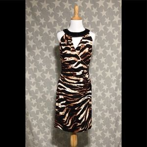 Muse - Boston Proper Animal Print Dress